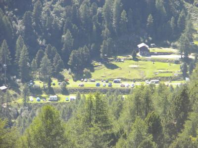 Camping d'Arolla