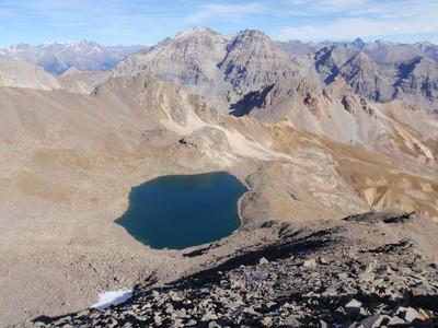 Lac Blanc,vu depuis La Crête des Gardioles