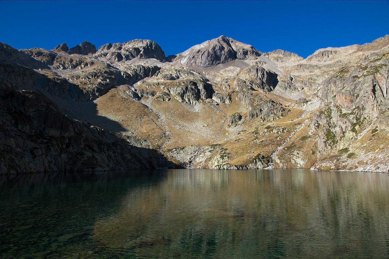 Pics Chabarrou, lac du Chabarrou