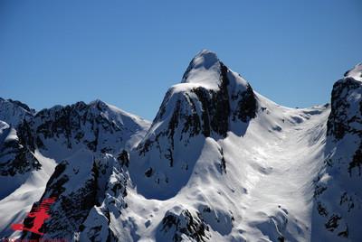 La slanciata Cima Soliva 2710m versante N