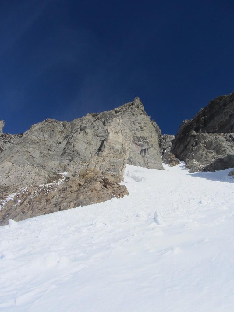 via gli sci, forse potevo salire ancora un po'