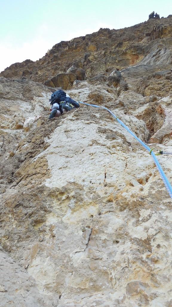 L2 après quelques mètres le rocher est meilleurs.