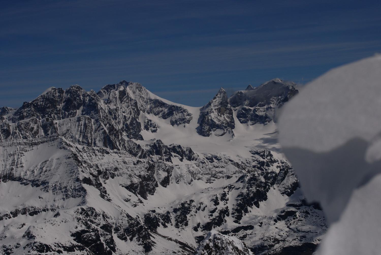 Il Bernina 4048m dalla Sella di Pioda