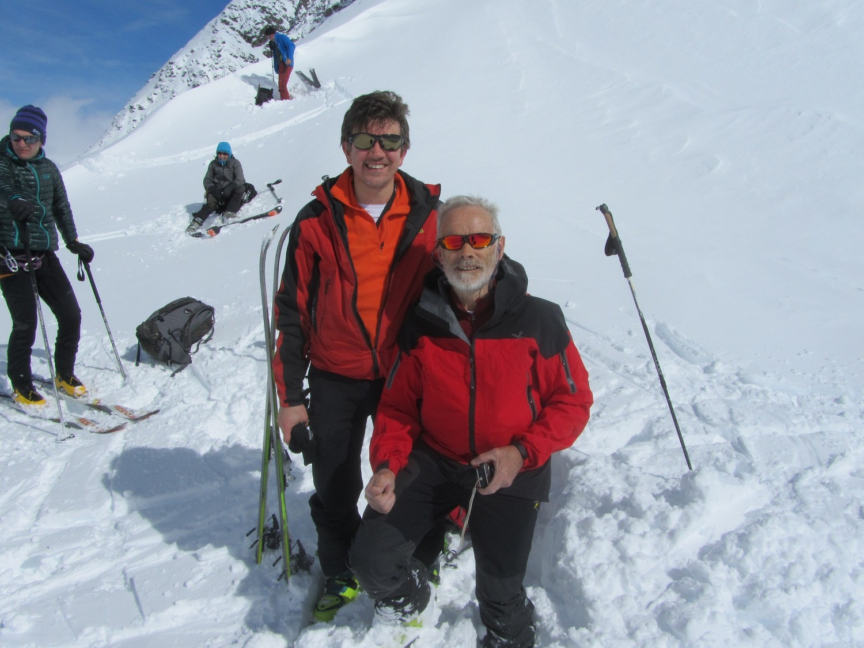 Al colle  quasi 1 metro di neve fresca...