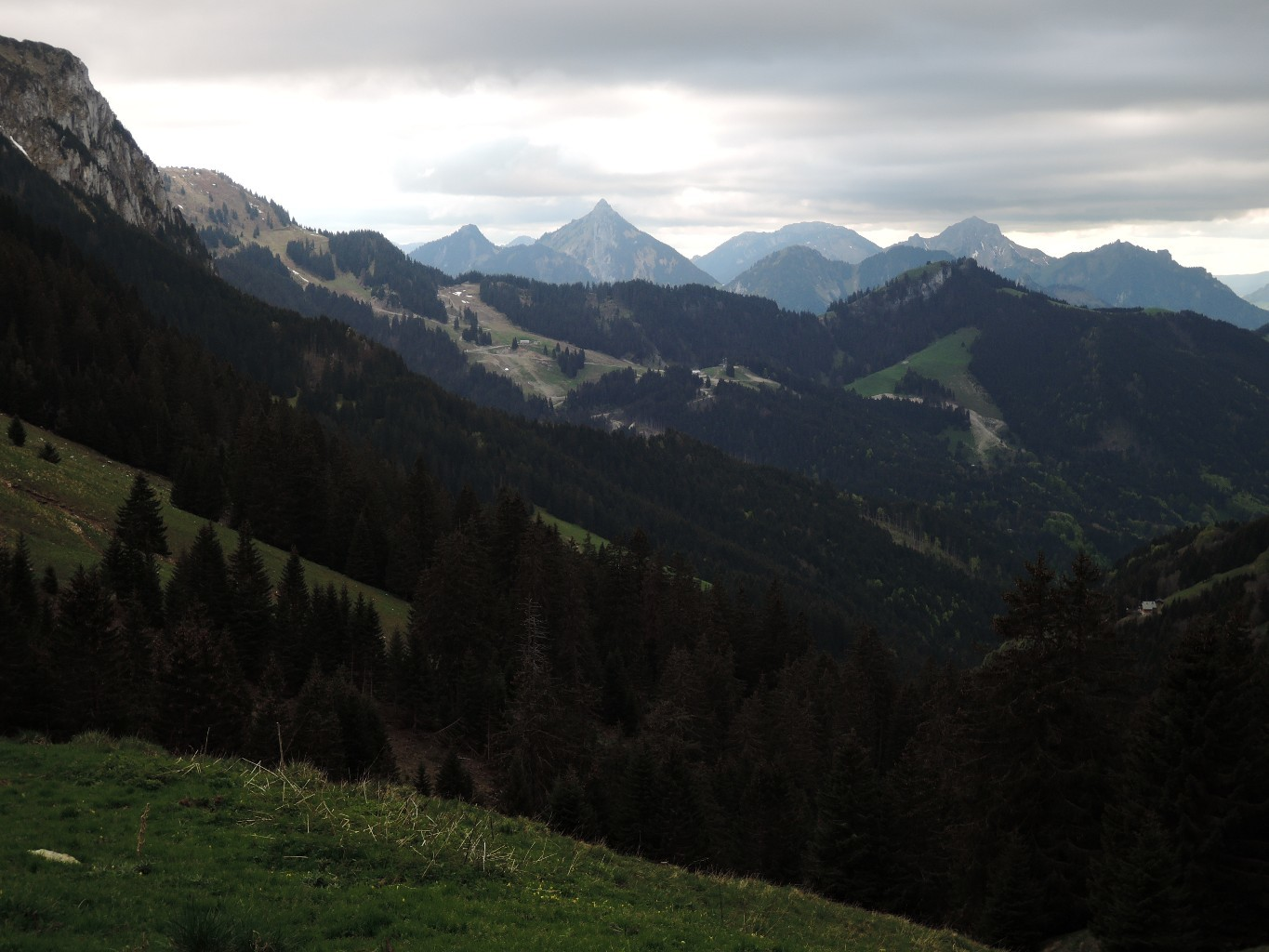 view from the route