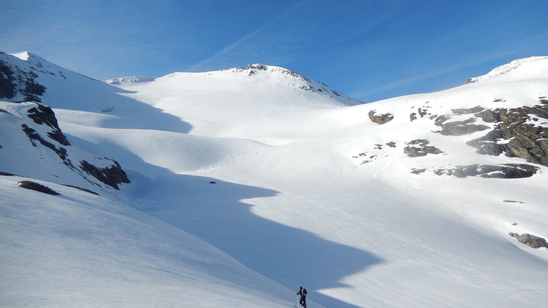 le glacier de l'Aiguiller Rousse
