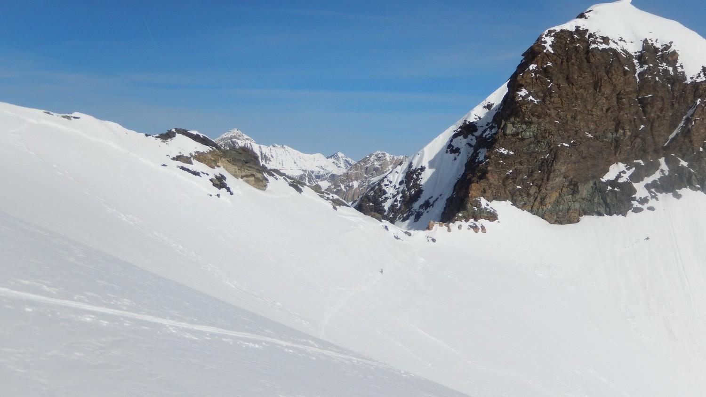 Col d'Ouin versant Italie