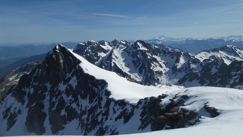 Depuis le sommet vue sur Rocher Badon