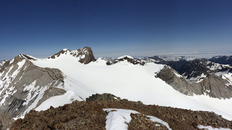 État du glacier