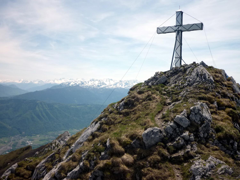 "Une ""superbe"" Croix Mécano au sommet."