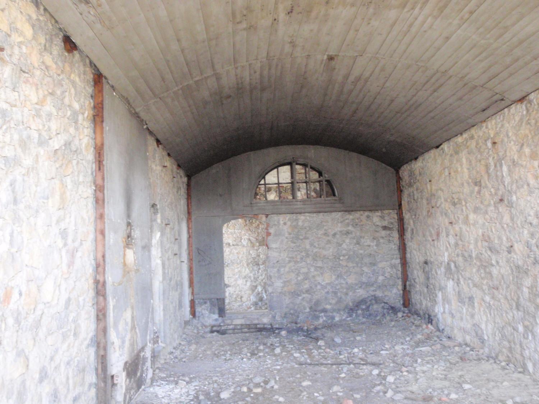 intérieur des baraquements