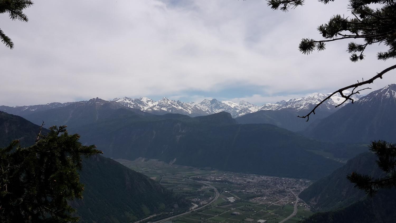 Vallee du Rhone depuis la voie