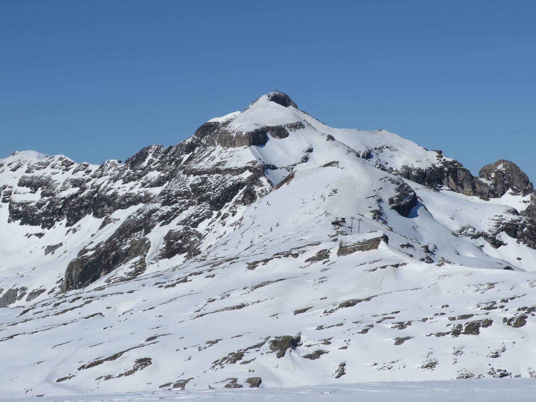 """conditions Coloney (des zones """"jaunes"""" dégarnies de neige fraiche)"""