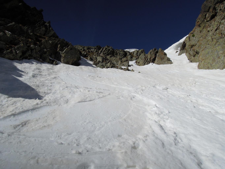 Excellente neige en partie haute!