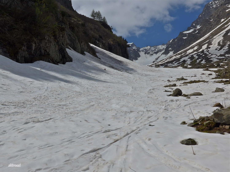 Terminus avec du bon ski.