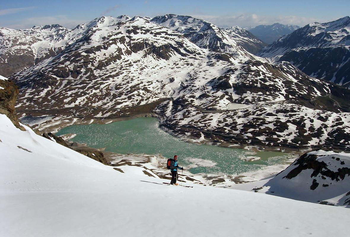 Caral; discesa in Val di Tegnus...