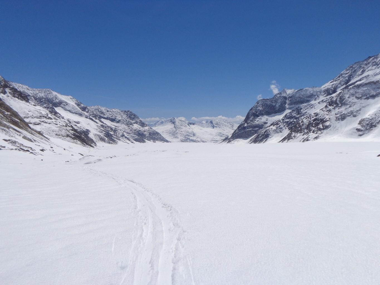 Retour sur le glacier d'Aletsch