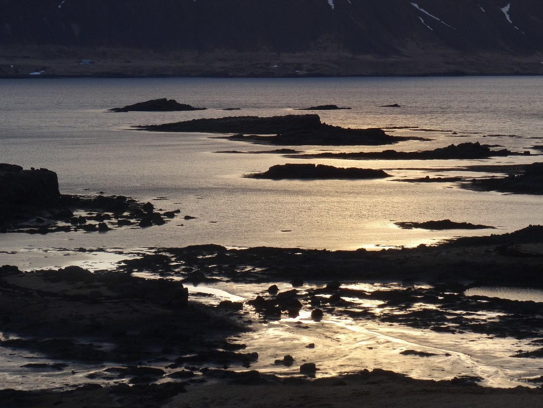 reflets du soir, sud péninsule NW