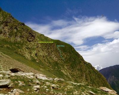 Itinéraire de randonnée pour la Maye