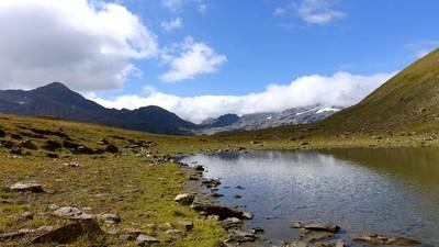 Un des lacs du mont Fortin