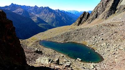 Lac du mont Rouge