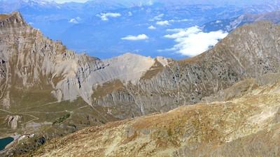 Le col du Jorat versant Salanfe
