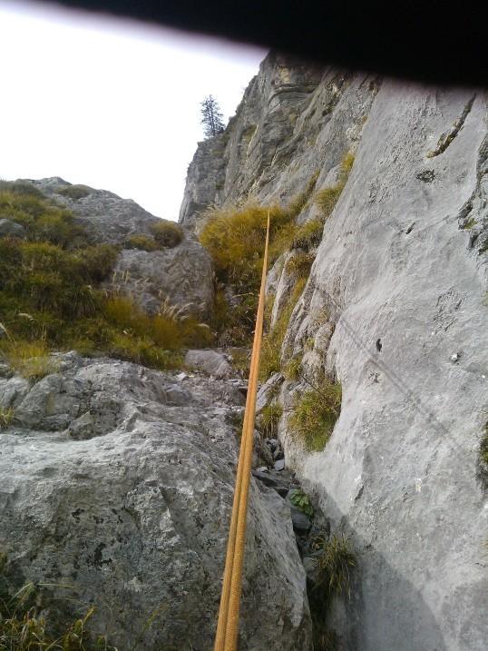 Premier rappel de 35 m