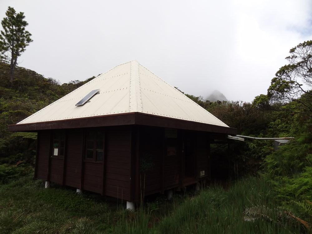 Fare Ata : 2e refuge de l'Aorai.