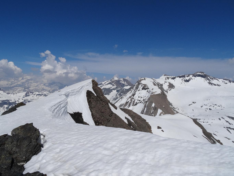 Vue vers le glacier du Grand Pissaillas.
