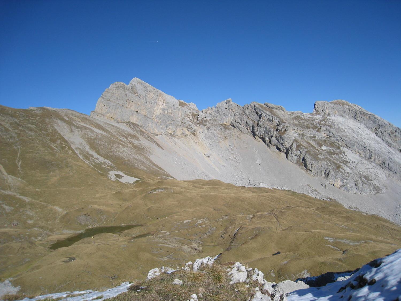 bascule vers balafrasse: lac Peyre, Pte Midi, Dzerat - Pte Blanche