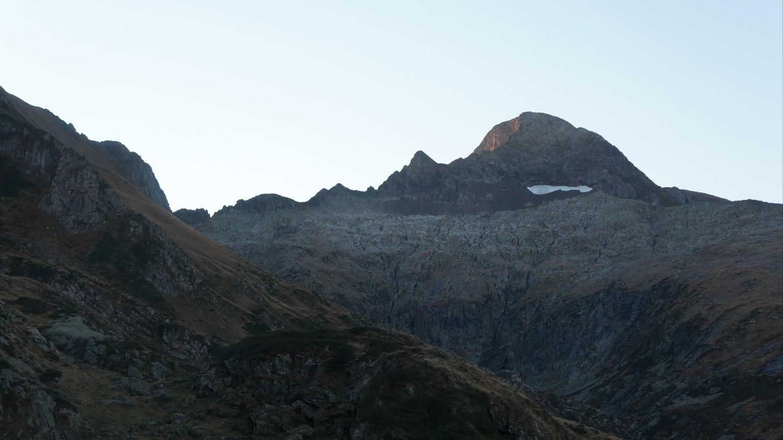 Arête des Antiques et Mont Valier