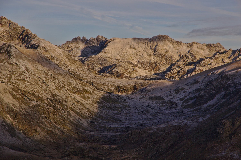 Val d'Arques, pic de Cazalassis, pic Fourcade