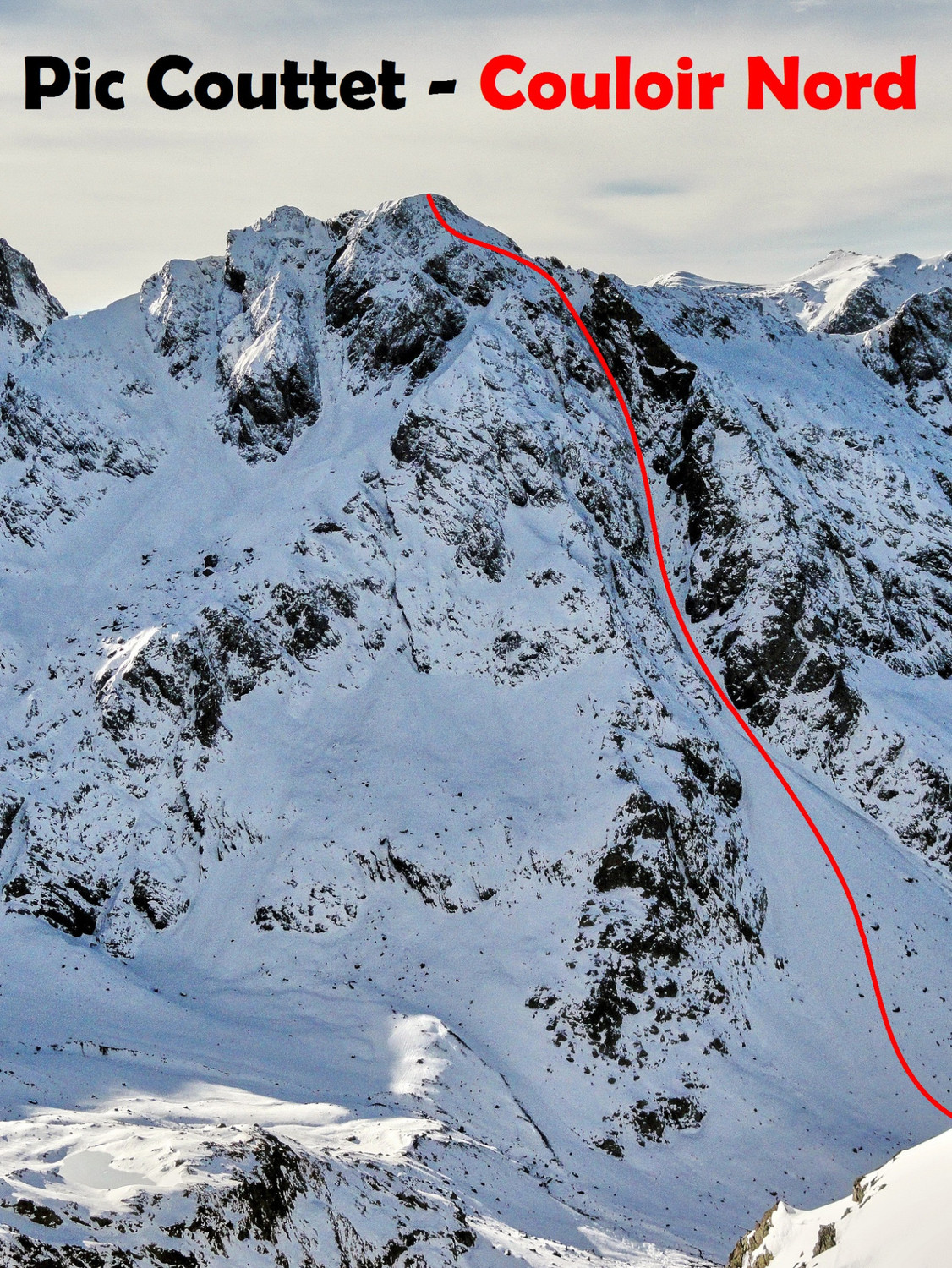 Pic Couttet - Couloir Nord