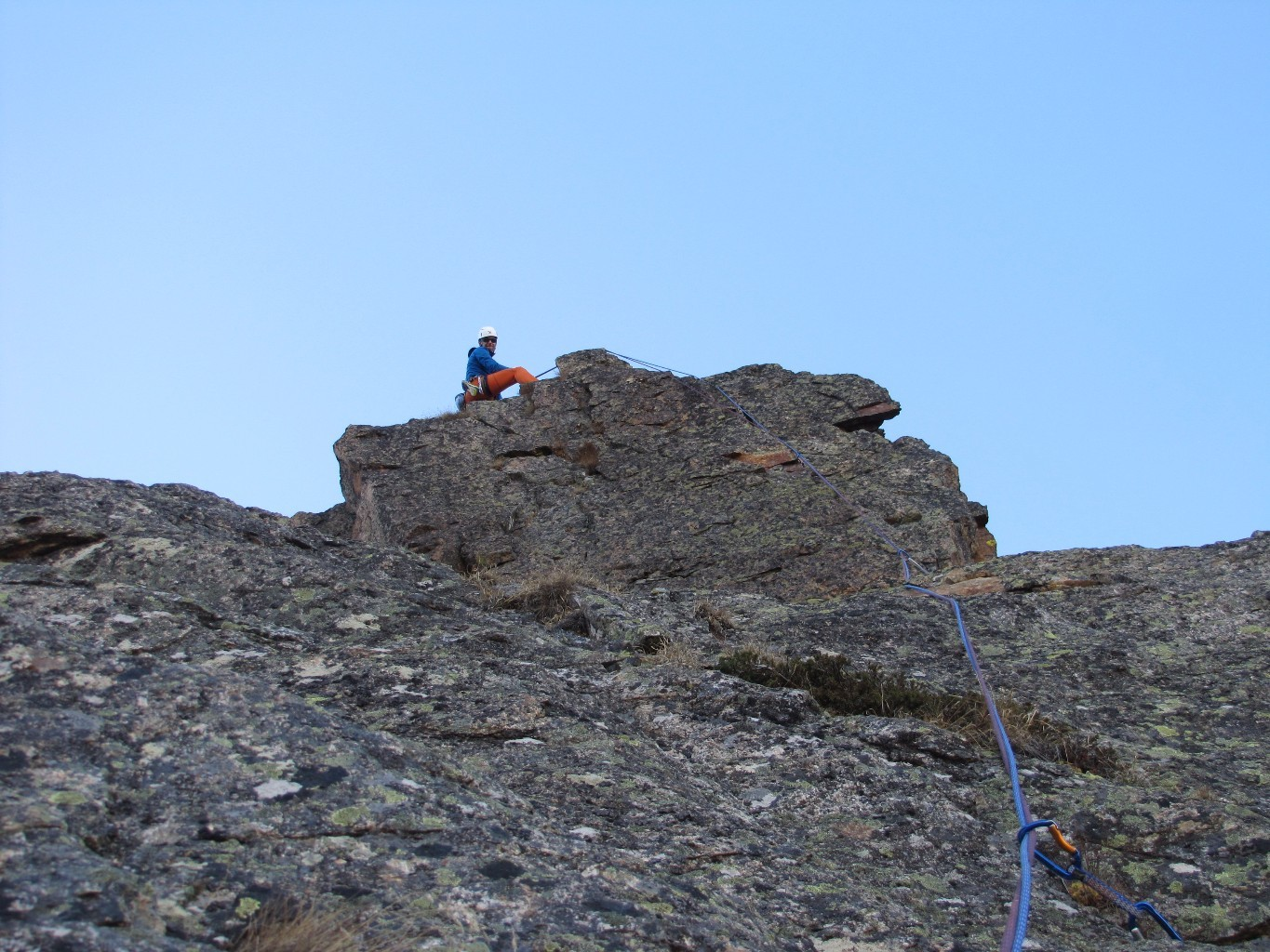 Stance at end of Pitch 8