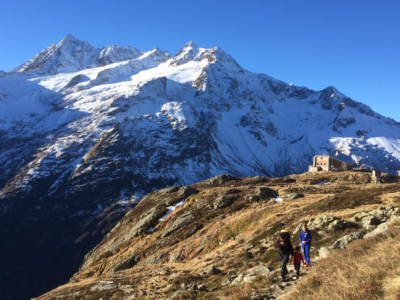 Journée d'escalade à la Sewenhütte