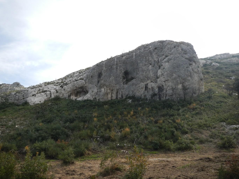 Orgon, secteur Petit Mur
