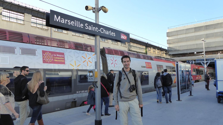 [Photo inutile] Arrivée à Marseille St Charles