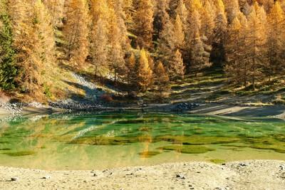 Le lac de Croux