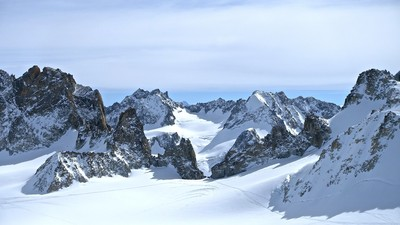 Fenêtre de Saleina versant plateau du Trient