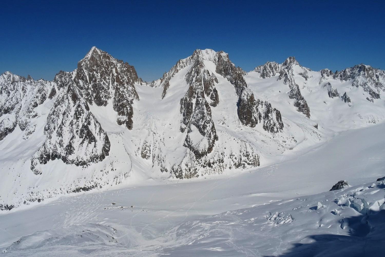 Aiguille du Chardonnet - Aiguille d'Argenitère - Tour Noir