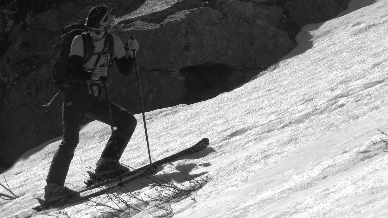 Yohann découvre le ski rando