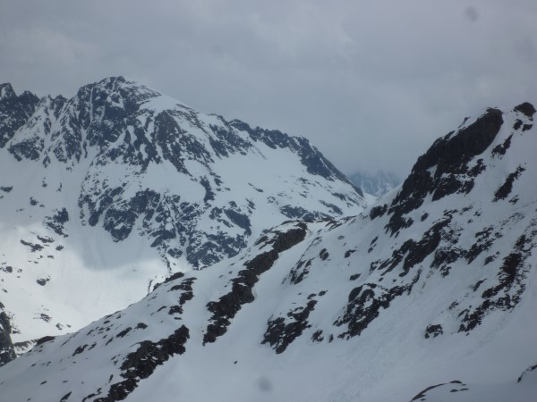 Couloir vers point 2222m