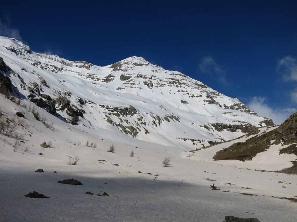 Clot de Chichin, Montagne de Chapan