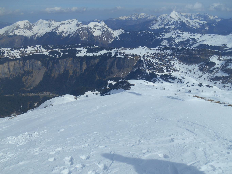 Massif de Tavaneuse, Mont de Grange et Avoriaz