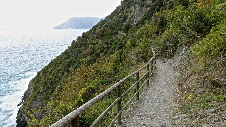 Exemple de chemin avec barrière