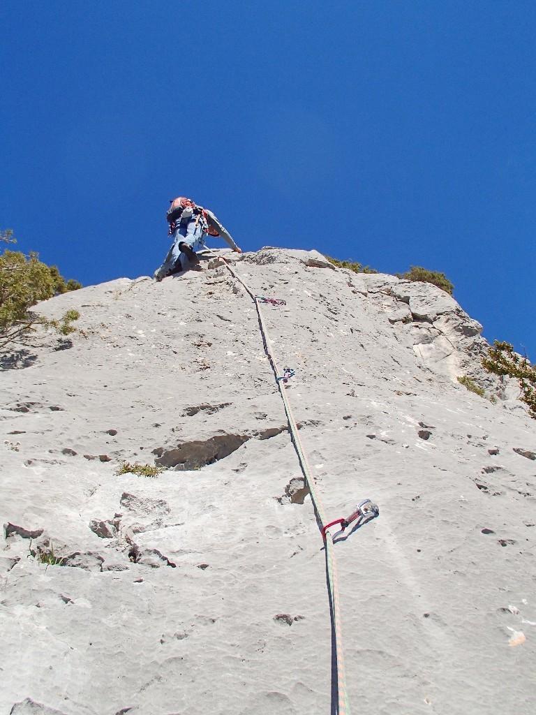 Un peu de grimpe quand même !