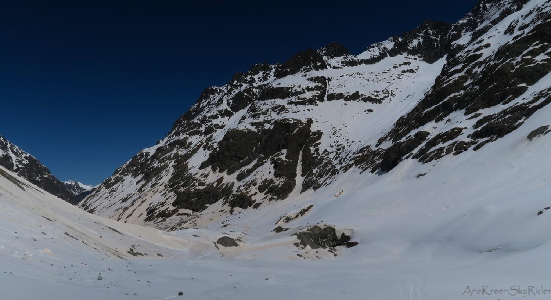 Bas du glacier des agneaux