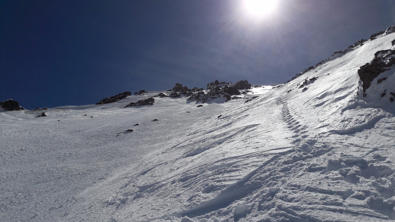 Ski dans les 150m supérieurs
