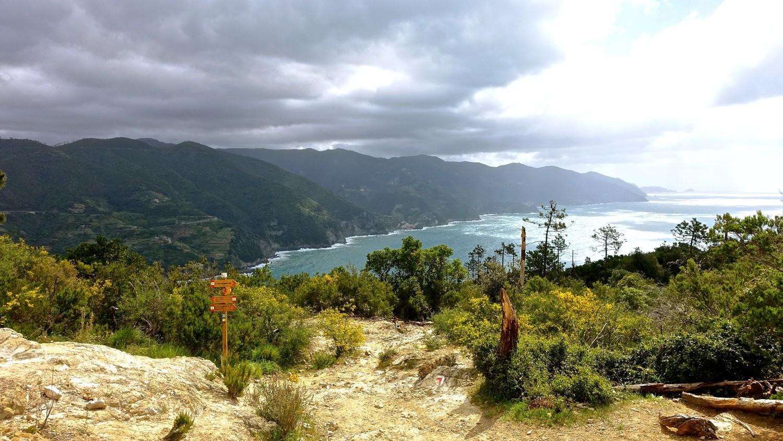 Pointe de Mesco vue sur les Cinque Terre