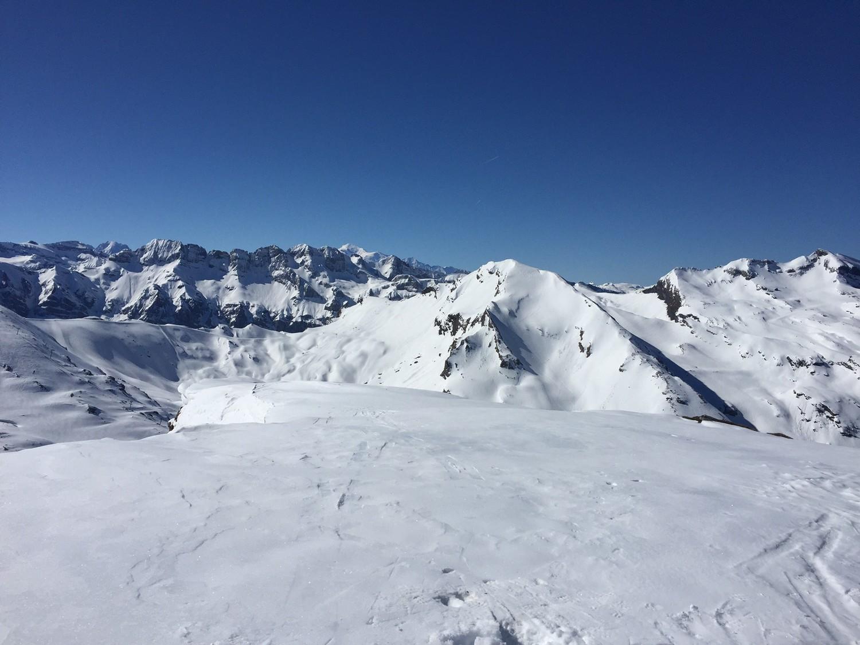 Dents Blanches, Mont Blanc, Vorlaz, Hauts Forts
